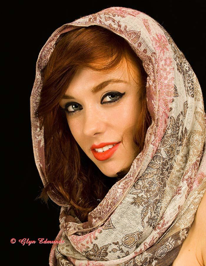 Sophie with Shawl
